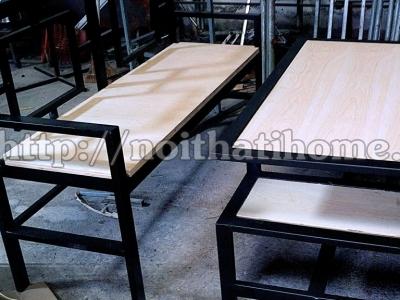 Hình ảnh Bàn ghế nhà hàng cho quán ăn 002