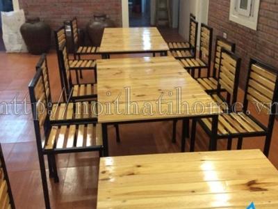 Hình ảnh Bàn ghế quán ăn, nhà hàng 003