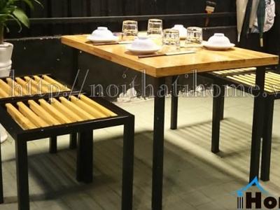 Hình ảnh Bàn ghế quán ăn, nhà hàng 007