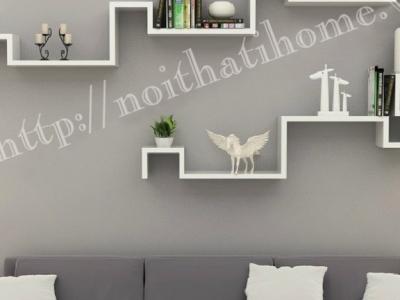 Hình ảnh Giá trang trí phòng khách đẹp