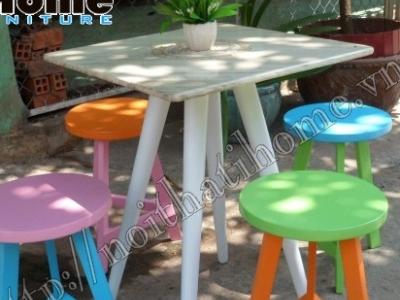 Hình ảnh Bàn ghế cafe, trà sữa đẹp