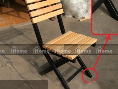 Hình ảnh Bàn ghế cafe chân gấp đẹp
