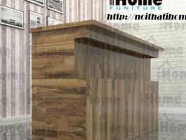 Quầy bar gỗ thông đẹp