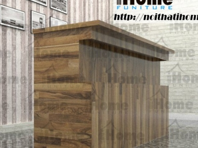 Hình ảnh Quầy bar gỗ thông đẹp