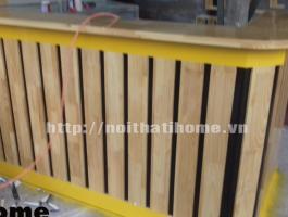 Quầy bar gỗ thông đẹp 010