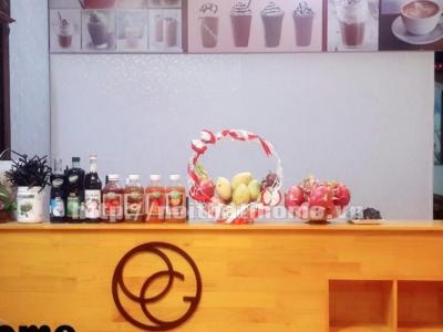 Hình ảnh Quầy bar gỗ thông bán hàng 011
