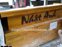Quầy bar gỗ thông đẹp 012