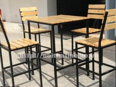 Hình ảnh Bàn ghế nhà hàng, quán ăn đẹp BGA 013