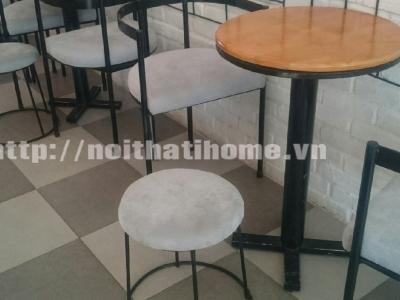Hình ảnh Bàn cafe tròn phong cách 032
