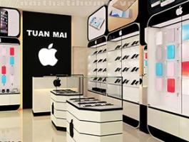 Thiết kế Shop – Cửa hàng điện thoại diện tích nhỏ tại Hải Phòng