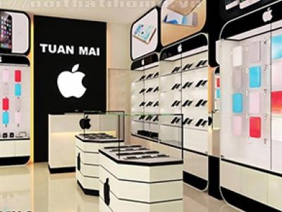 Hình ảnh Thiết kế Shop – Cửa hàng điện thoại diện tích nhỏ tại Hải Phòng