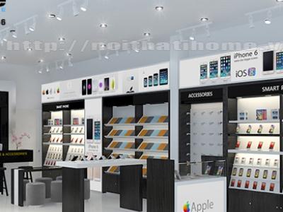 Hình ảnh Thiết kế Shop – Cửa hàng điện thoại ĐẸP – ĐỘC tại Hải Phòng