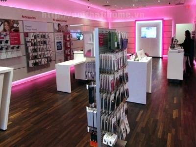 Hình ảnh Thiết kế nội thất Cửa hàng phụ kiện điện thoại tại Hải Phòng