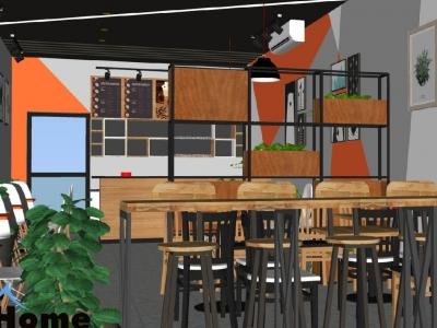 Hình ảnh Thiết kế quán cafe diện tích nhỏ tại Hải Phòng,