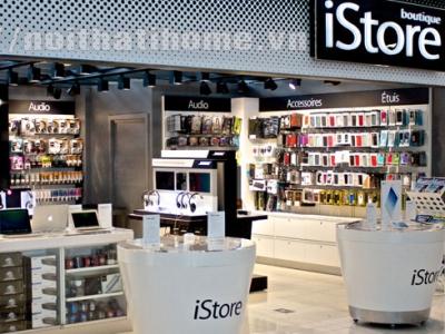 Hình ảnh Thiết kế nội thất Shop – Cửa hàng điện thoại tại Hải Phòng