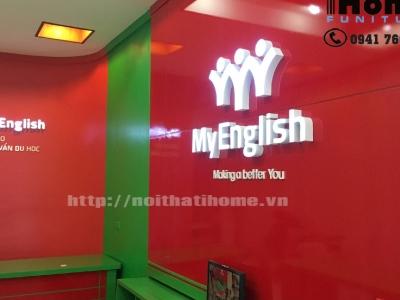 Hình ảnh Thiết kế Trung tâm Ngoại ngữ  ở tại Hải Phòng | Nội thất I-Home
