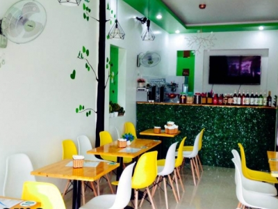 Hình ảnh Thiết kế nội thất bàn ghế quán cafe Hải Phòng : 0941 766 866