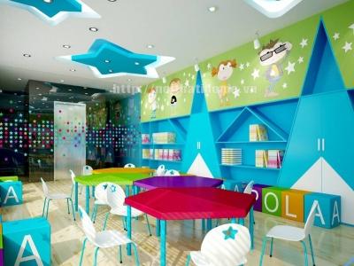 Hình ảnh Thiết kế trung tâm tiếng anh ở tại Hải Phòng – Nội thất I-Home