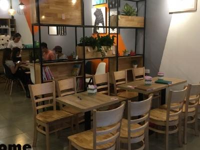 Hình ảnh Thiết kế quán cafe không gian nhỏ - Thiết Kế Quán Cafe Hải Phòng