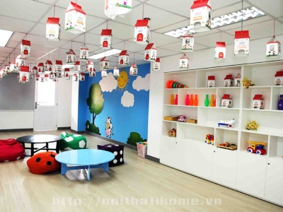 Hình ảnh Cẩm nang thiết kế nội thất trung tâm tiếng anh ở tại Hải Phòng