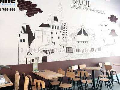 Hình ảnh Tư vấn thiết kế quán trà sữa đẹp Hải Phòng