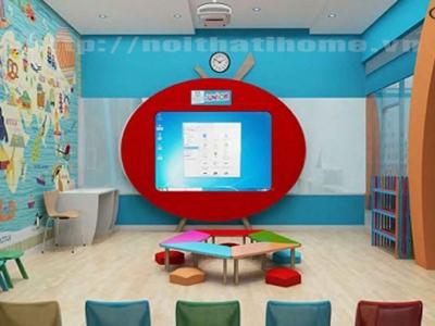 Hình ảnh 5 mẫu nội thất Trung tâm Ngoại ngữ từ 70 TRIỆU tại Hải Phòng