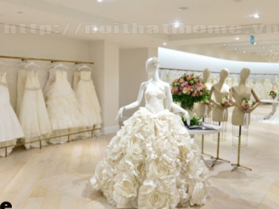 Hình ảnh Thiết kế cửa hàng thời trang áo cưới Thu Hiền tại Hải Phòng