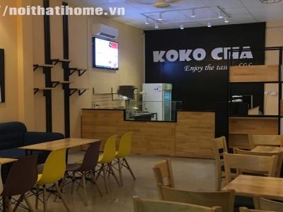 Hình ảnh Thiết Kế Quán Cafe - thiết kế quán trà sữa Hải Phòng