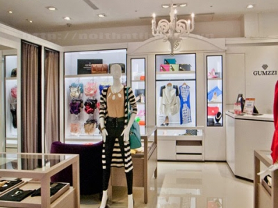 Hình ảnh 5 bước thiết kế Shop – Cửa hàng thời trang nữ ở tại Hải Phòng