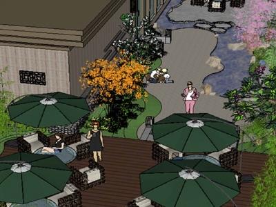 Hình ảnh Thiết kế quán cafe sân vườn đẹp tại Hải Phòng