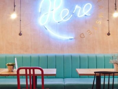 Hình ảnh Thiết kế quán café theo phong cách Retro