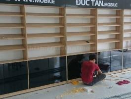 Thiết kế Shop – Cửa hàng điện thoại Đức Tấn ở tại Hải Dương