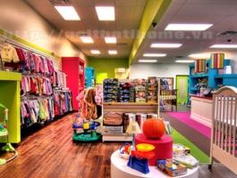 Thiết kế Shop – Cửa hàng thời trang trẻ em ở tại Hải Phòng