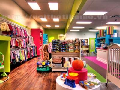 Hình ảnh Thiết kế Shop – Cửa hàng thời trang trẻ em ở tại Hải Phòng