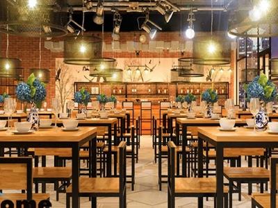 Hình ảnh Thiết kế nhà hàng phong cách hiện đại tại Hải Phòng