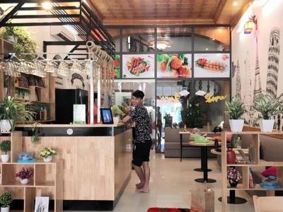 Hình ảnh Thiết kế thi công quán cafe tại Hải Phòng năm 2017