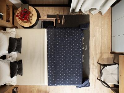 Hình ảnh Thiết kế nội thất phòng ngủ trọn gói tại Hải Phòng
