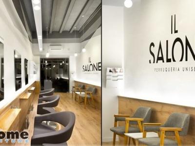 Hình ảnh 5 mẫu thiết kế nội thất đẹp cho salon tóc diện tích nhỏ