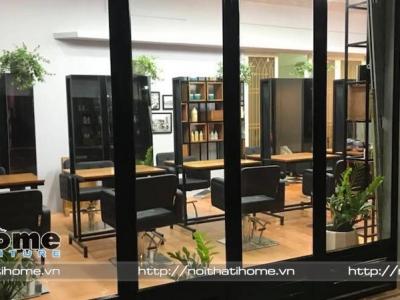 Hình ảnh Mẫu thiết kế nội thất cho Salon tóc Phong, Hải Phòng