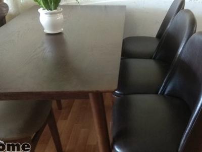 Hình ảnh Mẫu bàn ghế ăn cho các gia đình