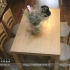 Bộ bàn ghế ăn bằng gỗ tự nhiên cho gia đình