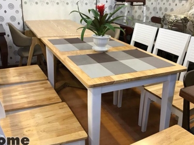 Hình ảnh Bộ bàn ghế ăn cho gia đình và nhà hàng đẹp
