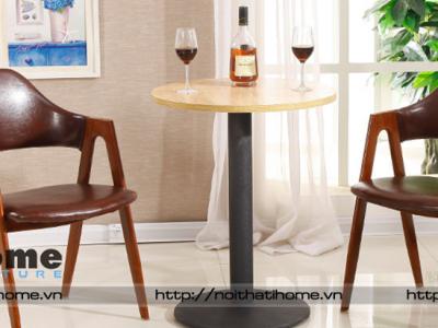 Hình ảnh Bàn ghế cafe compass | Đệm da