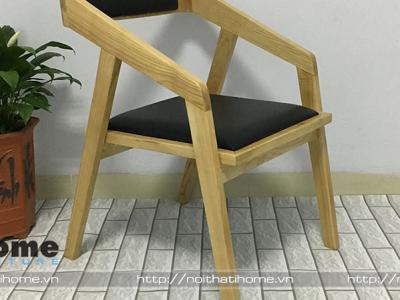 Hình ảnh Ghế gỗ cà phê phong cách Vintage