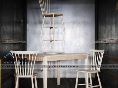 Hình ảnh Ghế gỗ cafe Pinnstol