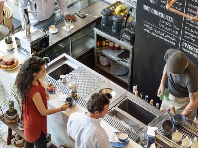 Hình ảnh Thiết kế quán cafe như thế nào để không bị mờ nhạt?