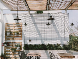 Thiết kế quán cafe diện tích nhỏ đẹp