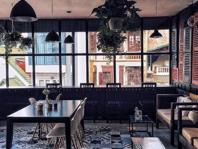 Hình ảnh Thiết kế quán cafe phong cách mộc tại Hải Phòng