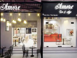 Thiết kế, thi công quán cafe nhỏ đẹp giá rẻ tại Hải Phòng