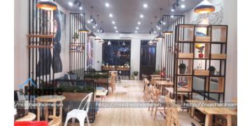 Nét ĐỘC ĐÁO trong THIẾT KẾ NỘI THẤT quán cafe NOBLE tại Tứ Kỳ, Hải Dương